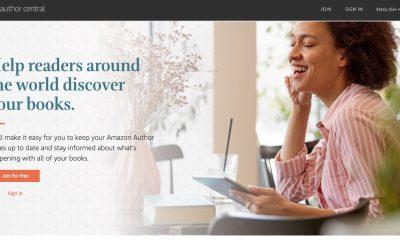 Creating an Amazon Author Central Account