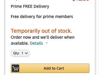 Why Is My Book Temporarily Out of Stock at Amazon?